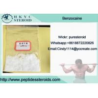 99.9% Purity Local Anesthetic Drug Benzocaine In Mass Stock For Pain Relief Manufactures