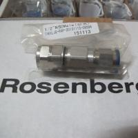 China Jack RF Coaxial Connectors Din Female For 1-1/4 Cable 60-120 Lbs Crimps on sale