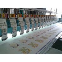 Tai sang embro Vista model 617( 6 needles 17 heads flat embroidery machine) Manufactures