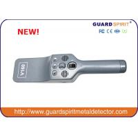 China Super Sensitivity handheld metal detector / Portable body scanner with Light Alarm wholesale