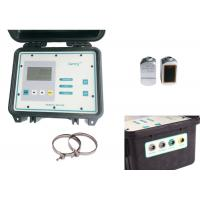 DN40--6000mm Portable Doppler Ultrasonic liquid flow meter for 4-20MA OCT outputs Manufactures