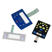 customized tactile LED membrane switch with metal dome LED&windows control for home appliance controller Manufactures