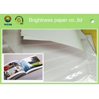 Custom Offset Printing Paper For Magazine And Textbooks 100% Wood Pulp Material Manufactures