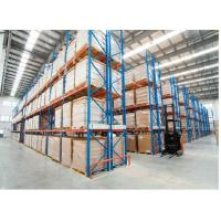 Heavy Duty Warehouse Shelving , Large Capacity Industrial Storage Shelves Manufactures