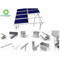 Solar PV Power Energy Bracket Aluminum Structure Patent Anodized Slope Solar Mounting Systems Saving Labor Costs Manufactures