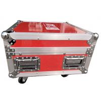 Luminous And Reflective Spot Red Rack Flight Case , Twelve Channel Motor Chain Hoist Power Case Manufactures