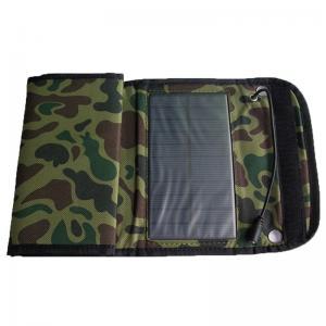 5W Outdoor Foldable Solar Panel Renewable Energy For Caravans Manufactures