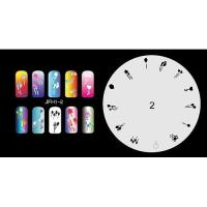 Airbrush nail stencil 1-2 Manufactures