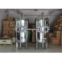 Stainless Filter Housing Activated Carbon Filter Tank Pressure Vessel With 150 450 Psi Manufactures