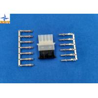 5.08mm Pitch Female Connector  Male Crimp Housing 4 Circuits with tin-plated Brass Contact Manufactures