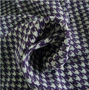 China 100% Polyester Chiffon Printed Fabric on sale