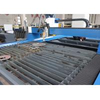 China Accuracy CNC Plasma Steel Cutting Machine / Messer CNC Plasma Cutter on sale