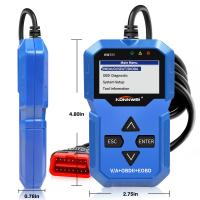 Airbag SRS System Auto Diagnostic Scanner Konnwei With EPB / Oil Service Reset Manufactures