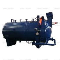 China Industry Use Horizontal Pressure Leaf Filter Crude Oil / Lubrication Oil Filter Press on sale