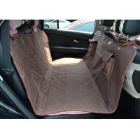 Personalized Quilted Pet Car Seat Covers Hammock Heavy Duty Material Manufactures