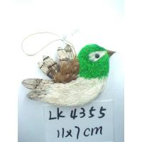 2018 new handmade bird,bark and grass holiday gifts and home decoration,hanger of Christmas tree,christmas ornamets Manufactures