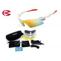 Mirror Coating Polarized Five Interchangeable Lens Sunglasses Anti - Glare TR90 Manufactures