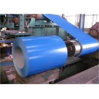 Roof Tile uv resistant Color Coated Steel Coils  0.42mm ppgi steel coil for display window Manufactures