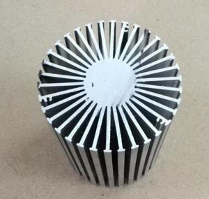 Customized Industrial LED Aluminum Heat Sinks Anodized Sunflower Heatsink Manufactures