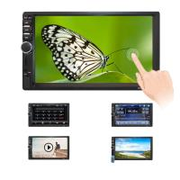 China 7 Inch HD Double Din Touch Screen Monitor 12V Voltage 13 Months Warranty on sale