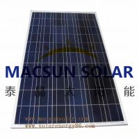 China Macsun solar 300W Poly Crystalline Solar Panels for solar power system on sale