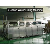 China Big Bottle 5 Gallon Water Filling Machine Liquid Plant Equipment on sale