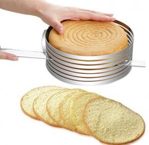 FBT010601 for wholesales adjustable stainless steel cake slicer kit Manufactures