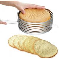 Buy cheap FBT010601 for wholesales adjustable stainless steel cake slicer kit from wholesalers