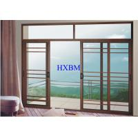 China Villas Apartments Aluminum Sliding Windows With 6mm Tempered Glazing on sale
