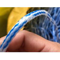 Hand Line for Cast Net-Holow Braided Polyethylene Rope-White/Blue Mixed Manufactures