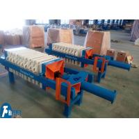Quality Polypropylene Filter Press With Plate One - Time Automatically Opened Discharge for sale