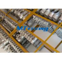ASME / ANSI B16.9 F51 / F53 S31803 / S32750 Duplex Steel Equal / Reducer Tee Pipe Fitting Manufactures