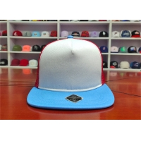 ISO9001 Blue Bill Baseball 5 Panel Trucker Cap For Adults Manufactures