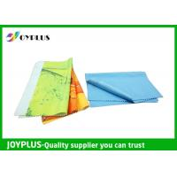 China Eco Friendly Microfiber glass cleaning Cloth , Colorful Microfiber Lens Cleaning Towel on sale