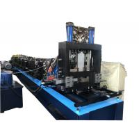 Gcr15 Roller / Chain Drive PLC Control CZ Purlin Roll Forming Machine Manufactures