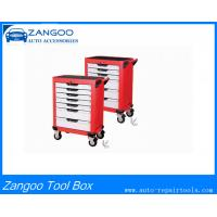 China Heavy Duty Red / Blue Polygonal Iron Roller Cabinet Tool Boxes ISO9001 on sale