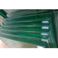 China 10mm / 12mm Tinted frosted Laminated Tempered Glass For Balustrade / Balcony on sale