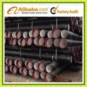Tianjin ISO2531 / EN545 / EN598 Ductile Iron Pipe K9 Manufactures