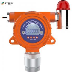 Hazardous Gas Monitors 210 * 140 * 92MM , NH3 Ammonia Poisonous Gas Detector Manufactures