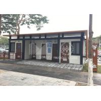 Wind Proof Prefabricated Modular Toilets , Customized Modular Restroom Units for sale