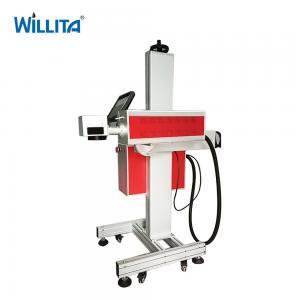 Cheap Desktop 10Watt numbering engraving Expiry date CO2 laser marker machine for ceramic wood Manufactures
