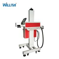 Cheap Desktop 10Watt numbering engraving Expiry date CO2 laser marker machine for ceramic wood Manufactures