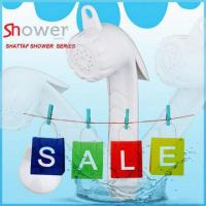 European Model White ABS Muslim Bidet Shattaf Shower Manufactures