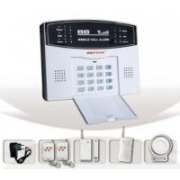 Intelligent GSM Alarm System(YL-007M2B) With LCD Screen, Flash Siren PIR Sensor And Keypad Manufactures