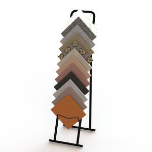 Foldable 12 30x30cm Ceramic Sample Board Display Racks Manufactures