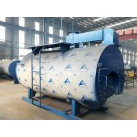 PLC Control Industrial Gas Fired Steam Boilers , Natural Gas Boiler For Palm Oil Mill Manufactures