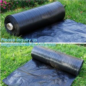 China Anti-UV Landscape Fabric PP Woven Agricultural Weed Control,PP Woven Landscape Fabric Garden Weed Barrier Mat, bagplasti on sale
