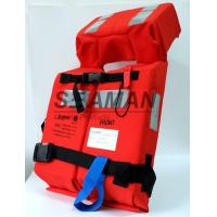 Buy cheap Adult 150N Foam Foldable SOLAS Marine Life Jacket Lifevest For Navy , Offshore from wholesalers