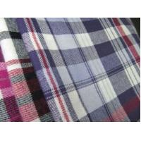 China 100% cotton flannel yarn dyed fabric on sale