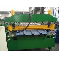 China Metal Color Steel PPGI Galvanized Sheet IBR Roof Panel Trapezoidal Roofing Sheet Roll Forming Line on sale